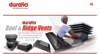 duraflo ridge vents